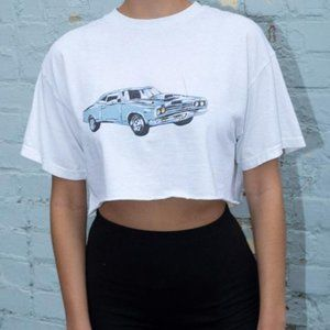 Brandy melville Aleena motor show 1984 top